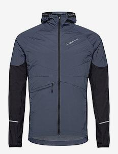 M Alum Jacket Blue Steel - eristetyt takit - blue steel