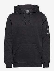 M Tech Hoodie - basic sweatshirts - black