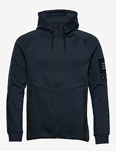 M Tech Zip Hood - sweats basiques - blue shadow