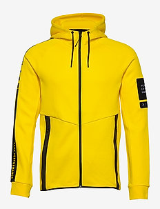 M Tech Zip Hood - basic sweatshirts - stowaway yellow
