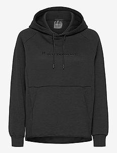 W Tech Hood Fells View - hoodies - black