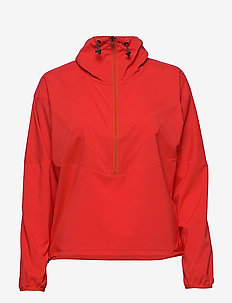 W HIT Half Zip - anoraks - vibrant red