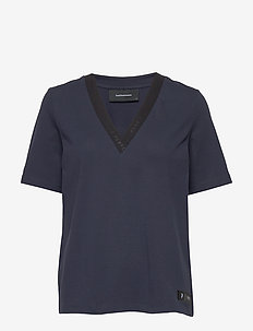 W Tech VN Tee - t-shirts - blue shadow