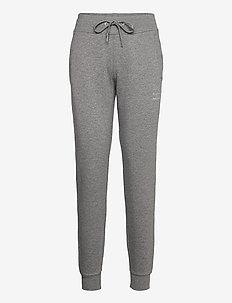 W Ground Tapered Pant Grey melange - joggebukser - grey melange