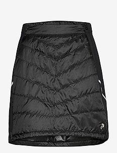W Alum Skirt Blue Steel - isolerende jakker - black