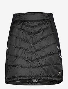 W Alum Skirt Blue Steel - insulated jackets - black