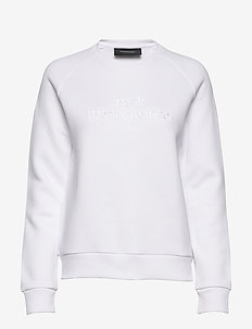 W Original Crew - sweatshirts - white