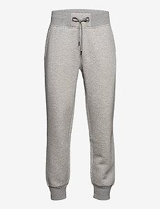 M Original Pant Med Grey Mel - pantalons - med grey mel