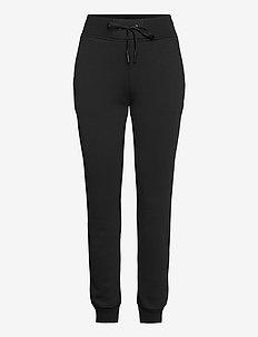 W Original Pant Med Grey Mel - bukser - black