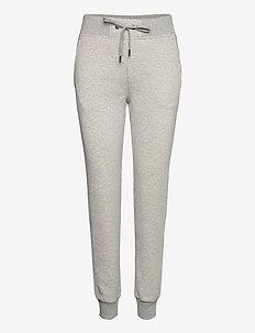 W Original Pant Med Grey Mel - joggebukser - med grey mel