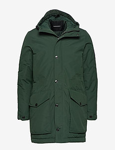 TYPHON J - insulated jackets - scarab green