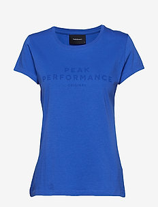 W ORIG TEE - BAY BLUE