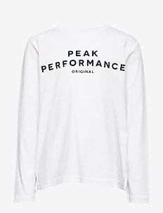 JR ORIG LS - WHITE