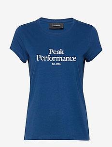 W Original Tee - logo t-shirts - cimmerian blue