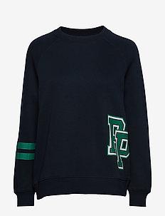 W BOUN C P - sweatshirts - salute blue