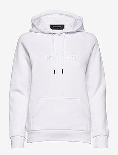 W Original Hood - bluzy z kapturem - white