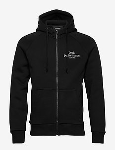 M Original Zip Hood - basic sweatshirts - black
