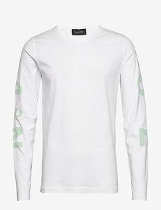 M Karta LS Tee - bluzki z długim rękawem - white