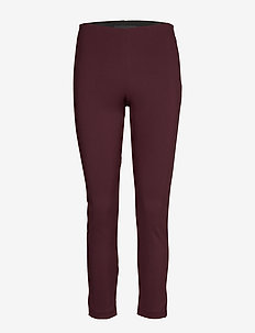 W Hilltop Cropped Pant - golf-housut - mahogany