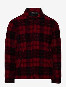 M Wool Shirt Print050 - wool midlayer - print050