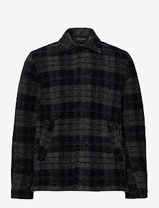 M Wool Shirt Print050 - wool midlayer - print208