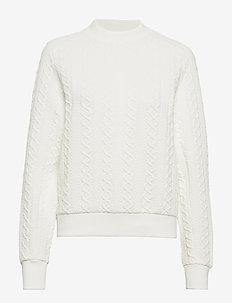 W FLOW C - sweatshirts - offwhite