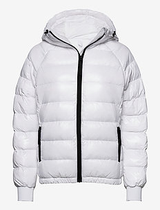 W Tomic Puffer Jkt The Alpine - insulated jackets - white