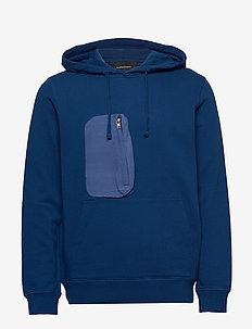 M Combined Hoodie - podstawowe bluzy - cimmerian blue