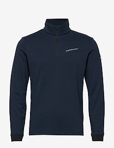 Chase Mid Half Zip Men - basic sweatshirts - blue shadow