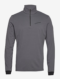 Chase Mid Half Zip Men - basic sweatshirts - deep earth