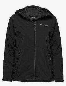 W Nightbreak Jacket - wandel- en regenjassen - black
