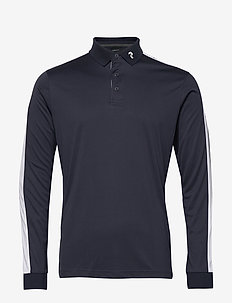 Player Polo LS Men - polos à manches longues - blue shadow