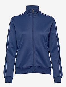 W Flow Zip Jacket - sweatshirts - cimmerian blue