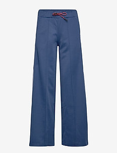 W Flow Wide Pants - sportbyxor - cimmerian blue