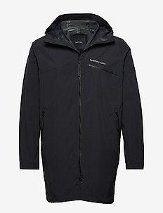 M Sapphire Light Jacket - outdoor- & regenjacken - black