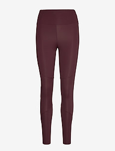 W Race Tights - running & training tights - mahogany