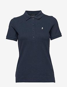 W Classic Piqu - koszulki polo - blue shadow