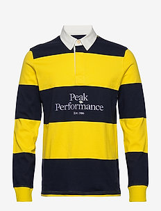 M Light Rugby LS - polo''s - stowaway yellow