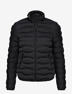 W Helium Stretch Liner Black - insulated jackets - black
