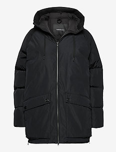 W Stella Jacket Black - parkacoats - black