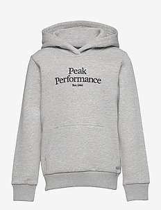 Jr Original Hood - kapuzenpullover - med grey melange