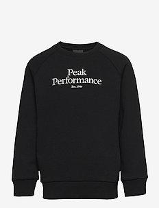 Jr Original Crew - sweat-shirt - black