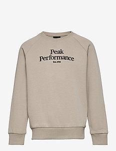 Jr Original Crew - sweatshirts - celsian beige