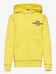 Jr Original Zip Hood - hoodies - citrine