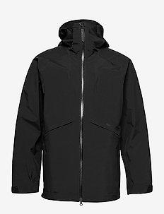 M GTX X15 Jacket - ulkoilu- & sadetakit - black