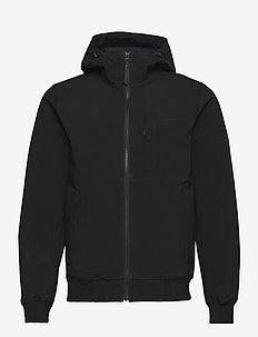 M Softshell Hood Jacket - ulkoilu- & sadetakit - black