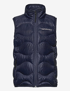 Jr Helium Vest - bodywarmers - blue shadow