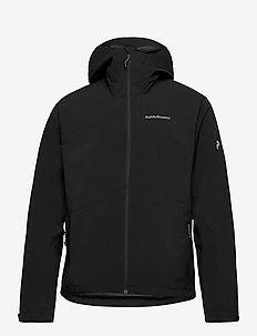 M Nightbreak Jacket - jakker og regnjakker - black