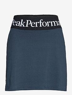 W Turf Skirt - urheiluhameet - blue shadow