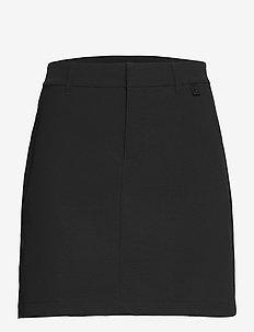 W Illusion Skirt - urheiluhameet - black